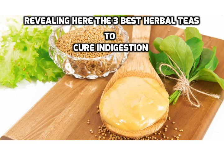Revealing Here the 3 Best Herbal Teas to Cure Indigestion - How fast you eat, what you eat, what medications you're on, how much you eat, your weight, and more can all contribute to indigestion and other G.I. problems. Revealing Here are the 3 Best Herbal Teas to Cure Indigestion.